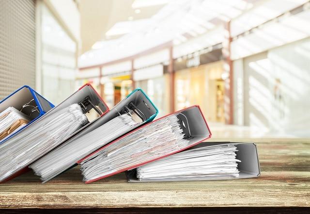 archivierte Unterlagen