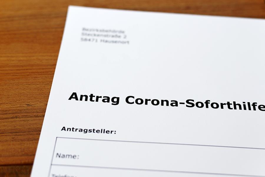 Soforthilfe für Corona beantragen in Brandenburg 2020