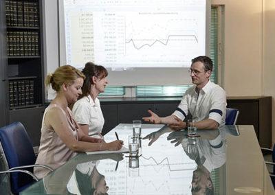 Hochwertige technische Büroausstattung